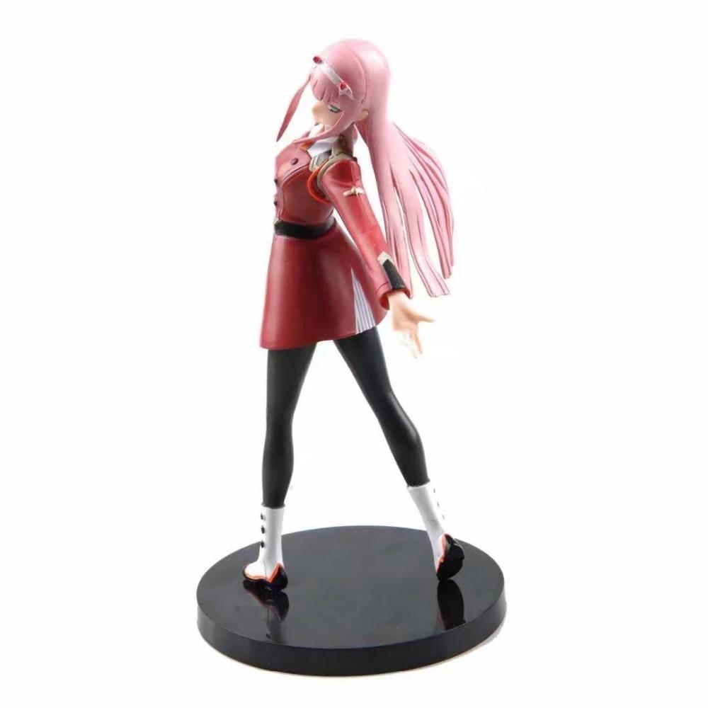 DARLING in der FRANXX 02 Zero Two Uniform Version PVC Figur Statue Spielzeug