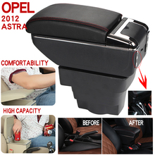 For Opel 2012 Armrest Box Universal Car Central Armrest Storage Box cup holder ashtray modification accessories commercial car hight quality car armrest box storage for nv200 armrest box nv200