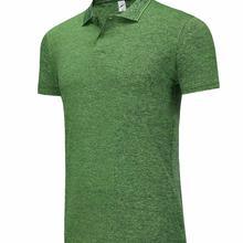 1808 зеленая тренировочная футболка, рубашки поло
