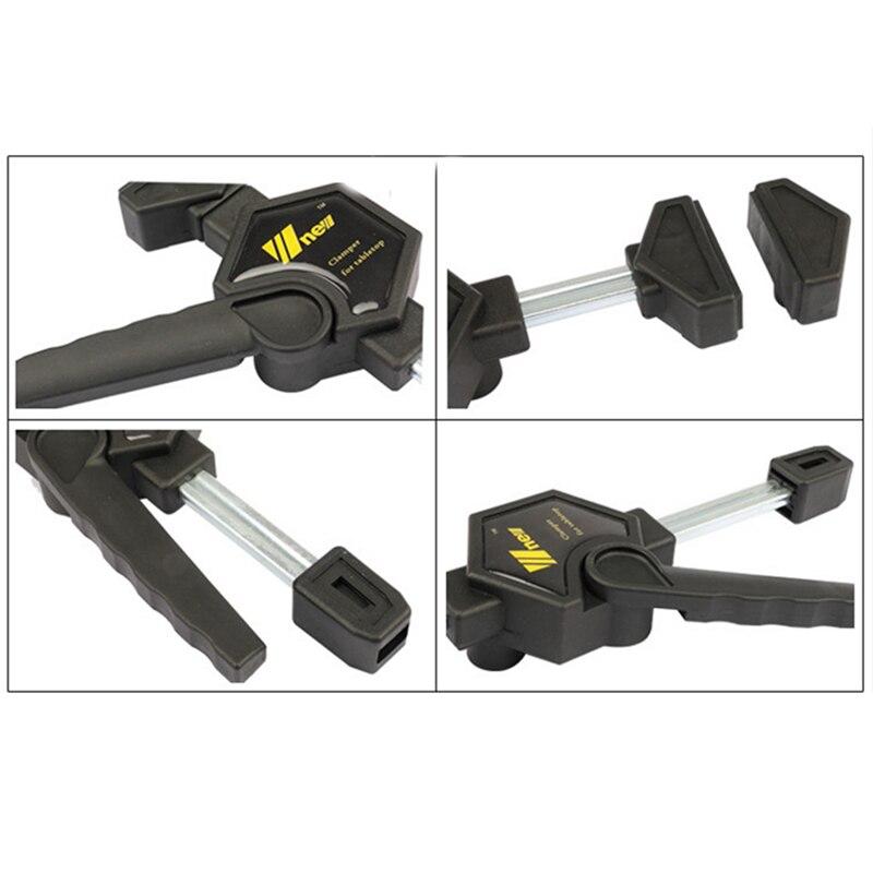 Hho-quick cliquet libération vitesse presser bois travail barre de travail pince Clip Kit épandeur Gadget outil bricolage main - 5