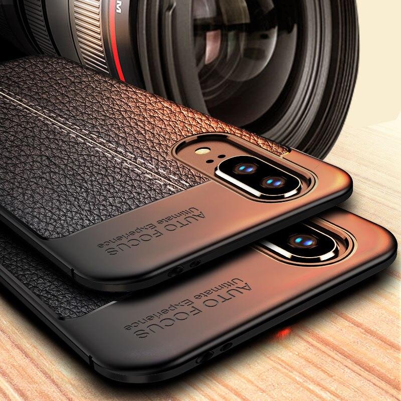 Leater-Case Motorola Moto Play C-Plus Silicone Bumper Coque for G8 G7 G6 G5 Fundas E5