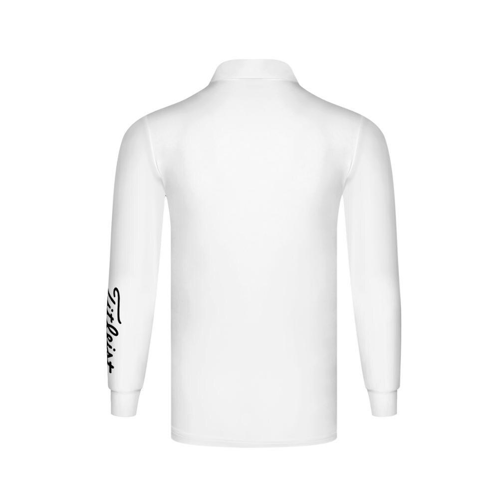 2020 otoño nueva ropa hombres golf Polo-shirt deportes golf manga larga - 5