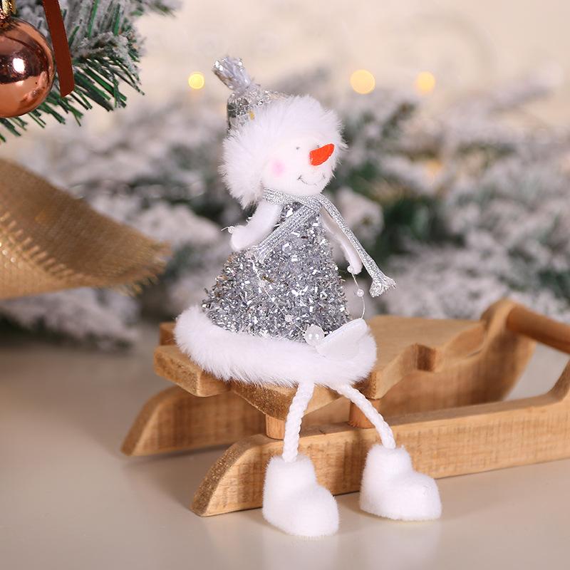 2020 New Year Gift Cute Christmas Angel Doll Xmas Tree Ornament Noel Deco Christmas Decoration for Home Natal Navidad 2019 Decor 45
