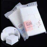 1 Pack Cotton Nail Polish Remover Nail Wipes Lint-free Wraps Pads Gel Cleaning Makeup Paper Napkin Nail Art Manicure Tool TR1543