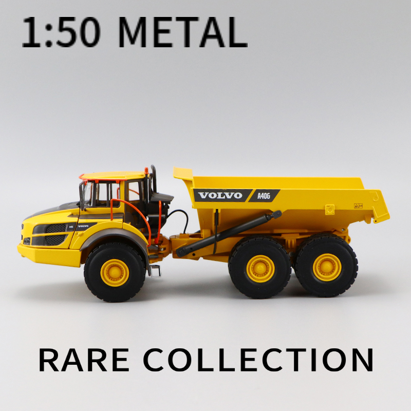 1:50   VOLVO  A40G ARTICULATED HAULER   MODEL COLLECTION  TOYS   RARE COLLECTION  SHOW