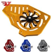 Motocicleta grade de radiador guarda girar capa protetor do motor acessórios para yamaha nmax 155 nmax155 nmax 125 150 155 16 19
