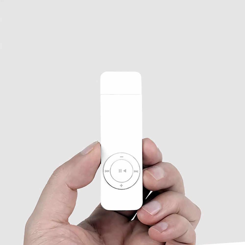 ポータブルストリップスポーツロスレスサウンド音楽メディア MP3 プレーヤーサポートマイクロ tf カード