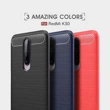 Мягкая обложка полная защита углеродного волокна TPU Силиконовый матовый для телефона Xiaomi Редми Примечание 8 7 К20 К30 8А 7А случай
