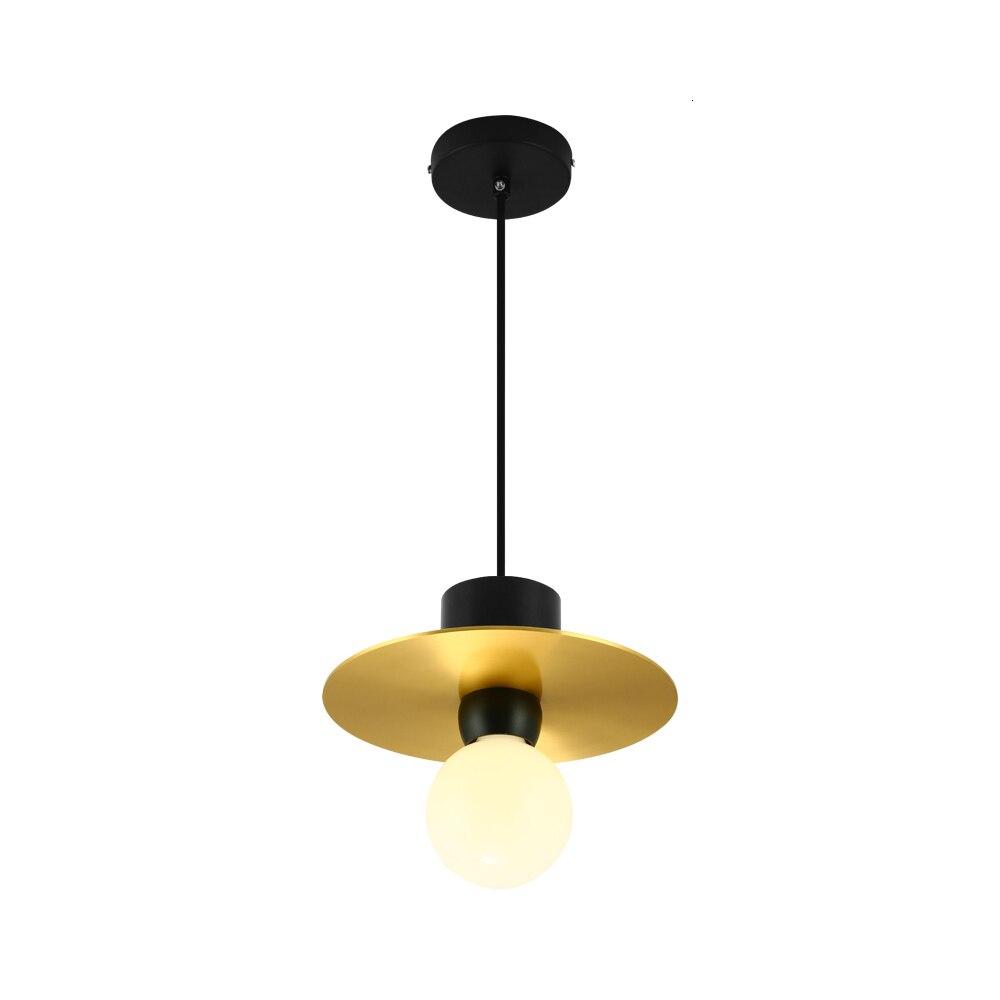 23 18 Dcm*h Post Modern Copper Lamp Shade Pendant Light Lustre Pendente Kitchen Chandelier