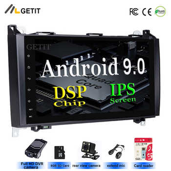 Android 9.0 Mercedes Benz B200 A B Class W169 W245 Viano Vito W639 Sprint Car Radio no DVD Player GPS Head unit Bluetooth Wifi - DISCOUNT ITEM  33% OFF Automobiles & Motorcycles