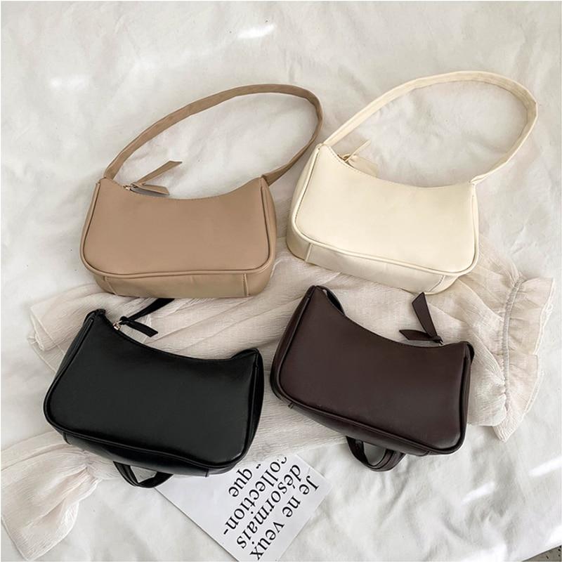 Retro Totes Bags For Women 2020 Trendy Vintage Handbag Female Small Subaxillary Bags Casual Retro Mini Shoulder Bag 6