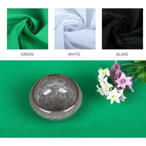Image 3 - Kit de equipamento de iluminação para fotografia, equipamento profissional com suporte macio de fundo com braço do boom, backdrops, estúdio de fotos