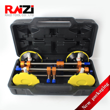 Raizi 2 Pcs Stone Seam Setter With Plastic Case for Seamless Joint Leveling 6 inch Granite Countertop Manual Installation Tools
