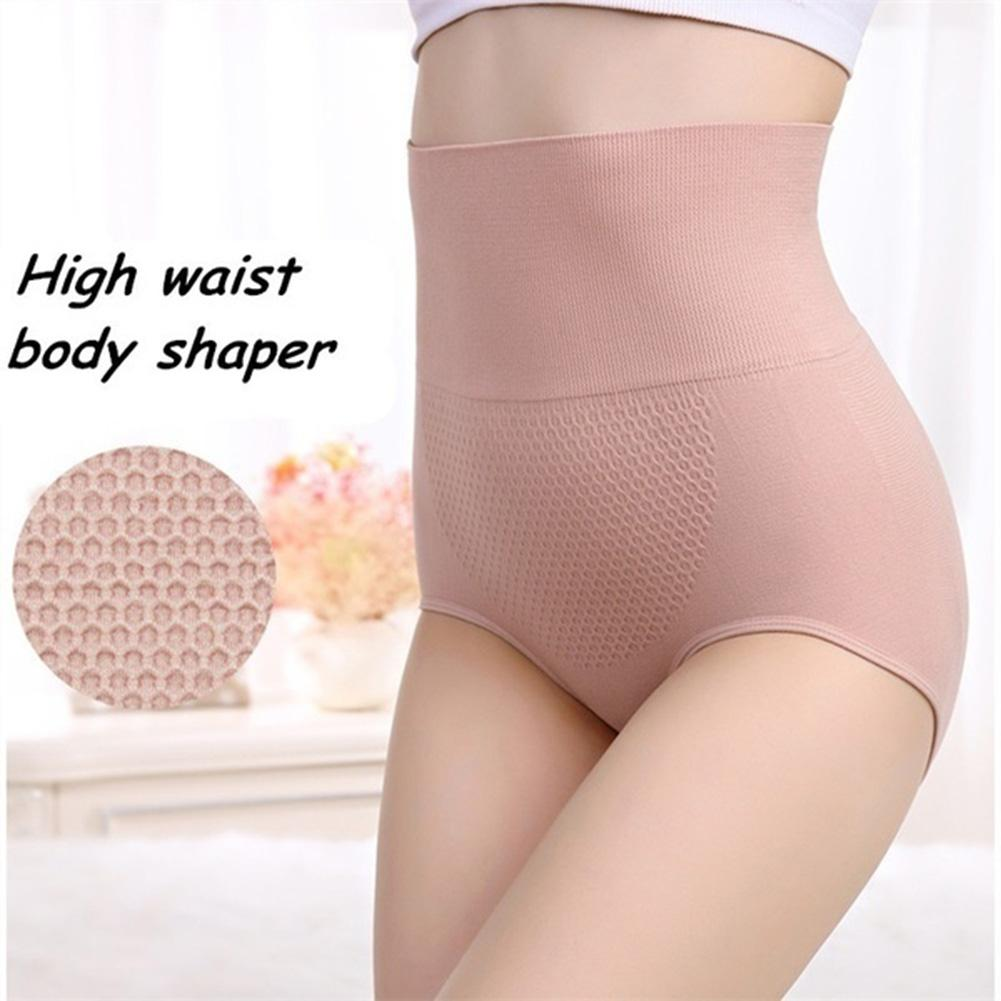 Sexy Underwear Women High Waist Shaper Tights 3D Hips Lift Up Honeycomb Briefs Body Shaping Hips Panties