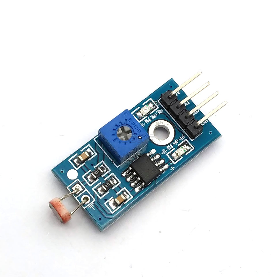 LM393 Optical Sensitive Resistance Light Detection Photosensitive Sensor Module For Arduino DIY Kit