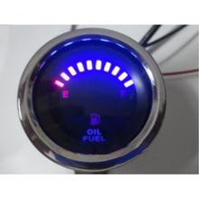 Motorcycle Speedometer 12V Odometer Tachometer Motorbike Dashboard Speed Indicator Retro Fuel Gauge LED Meter
