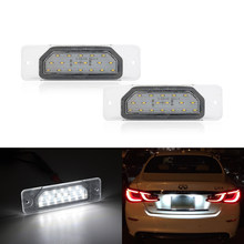 Luz Led para matrícula de coche, Infiniti FX35 lámpara para/45 2003-2008 S50/Q45/I30/I35/M37/M56 Q70 Nissan Fuga Cefiro, OEM Direct Fits