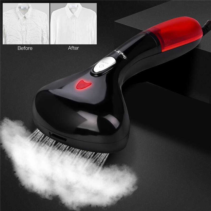 220V Hand Garment Steamer Vertical Steamer With Steam Iron Brushes Steam Generator For Clothes Portable Travel House Appliances