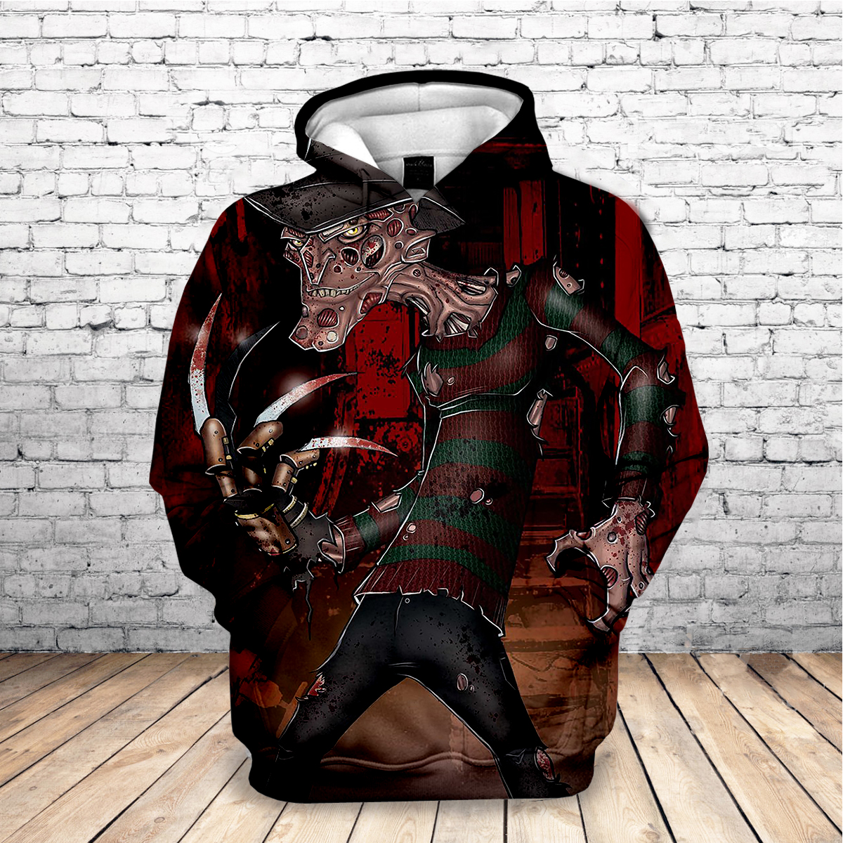 Hot 2019 Horror Michael Myers Mask Meet Jason Freddy 3D Printed Movie Sweatshirt Long Sleeve Streetwear Hoodies Drop Shipping