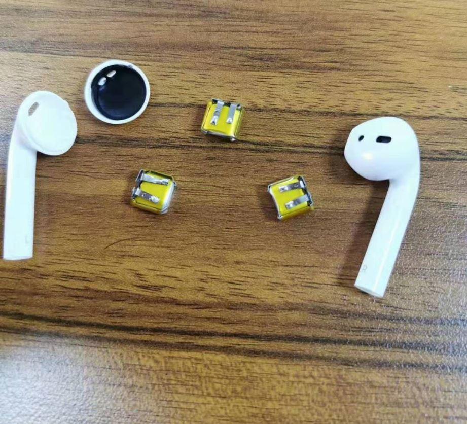 2pcs New For 3.7v Iphone I7 I8 I9s I10 Xiaomi Huawei Bluetooth Unlimited Headset Battery 30mah 50mah Deaf-aid