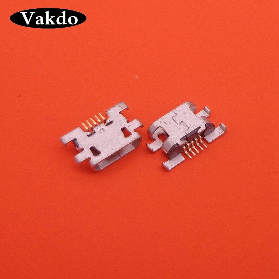 Oukitel k4000 usb 충전 충전 포트 커넥터 플러그 포트 잭에 대 한 2pcs 새로운 마이크로 미니 usb 소켓