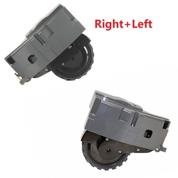 Left Right Motor wheel for irobot Roomba 500 600 700 800 560 570 650 780 880 900 series Vacuum Cleaner robot accessories caster assembly front castor wheel for irobot roomba 500 600 700 800 series 560 620 630 650 770 780 870 880 vacuum cleaner parts