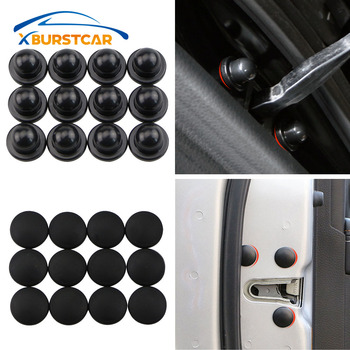 For Toyota Camry Corolla RAV4 Yaris Highlander Land Cruiser PRADO Vios Vitz Reiz Succeed Car Door Lock Screw Protector Cover image