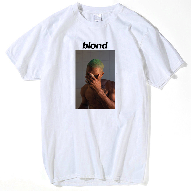 2019 Frank Ocean Blonde T Shirt Tee Shirt For Men Printed 2pac Tupac Short Sleeve Funny Top Tee Summer Tops For Men's Streetwear