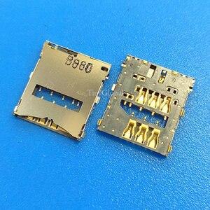 2 шт./лот, новое устройство для считывания SIM-карт, разъем для держателя лотка для Sony Xperia Z L36h C6603 C6602