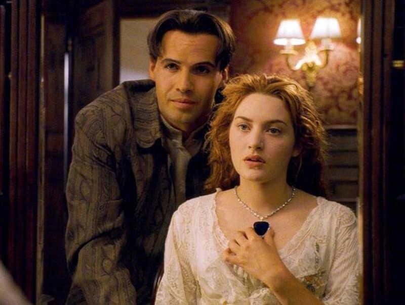 Titanic สร้อยคอ Heart of the Ocean Big Blue จี้คริสตัล CZ สร้อยคอสร้อยคอผู้หญิงของขวัญแฟชั่น Vintage รักงานแต่งงานเครื่องประดับ