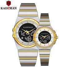 Kademan часы для пар новые роскошные влюбленных подарки от топ