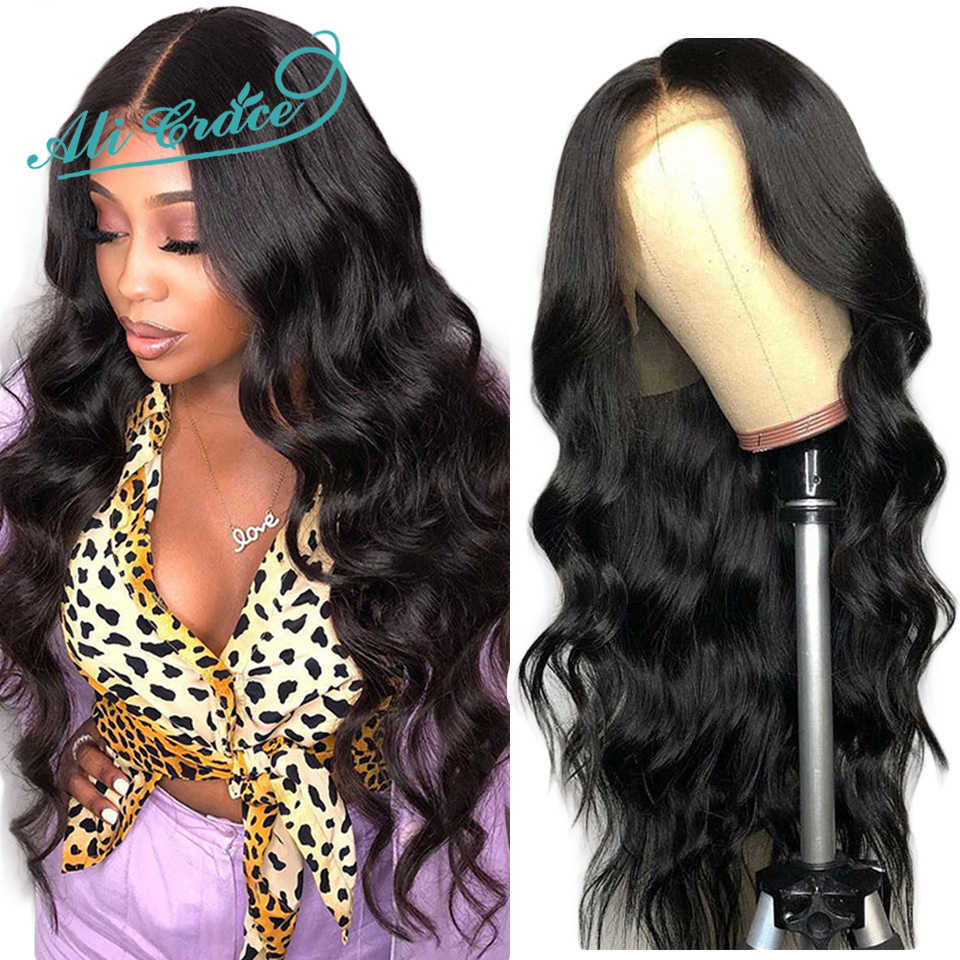 Ali Grace Body Wave Lace Front Wigs Natural Hairline With Baby Hair Remy Hair Lace Wigs Brazilian Body Wave Human Hair Wigs