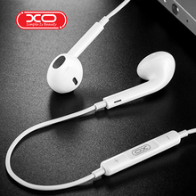 XO S31 Wired Earphones Super Bass 3.5mm Earphones Headset Hands Free Earbuds with Mic For H