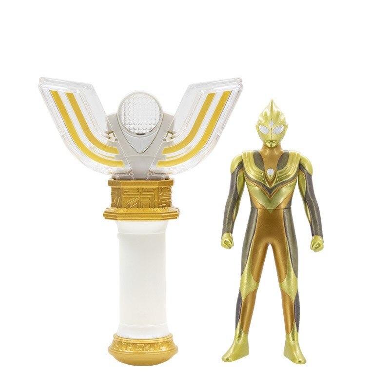Bandai Genuine Product Shine Tiga Shapeshifting Robot Spark Lens Ultraman Set Boy Figure Doll Toy 53120
