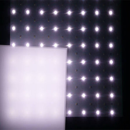 PS Diffuser Milky, Transparent Single-sided Frosted Diffuser Diffuser Lamp Cover Light Transmission Plate LED Light Sheet