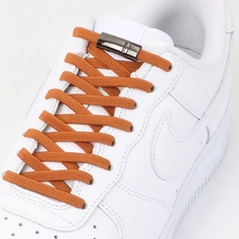 Elastic Magnetic Shoelaces Flats-Sneaker Laces-Strings Locking Quick Kids Adult 1pair