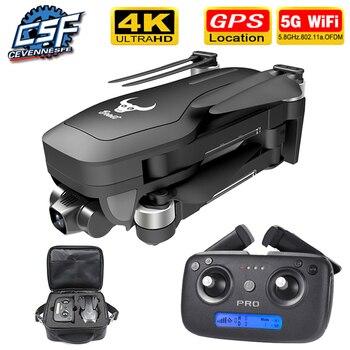 2020 NWE SG906 pro drone 4k HD mechaniczna kamera kardanowa 5G wifi system gps obsługuje karty TF drony odległość 1.2km lot 25 min