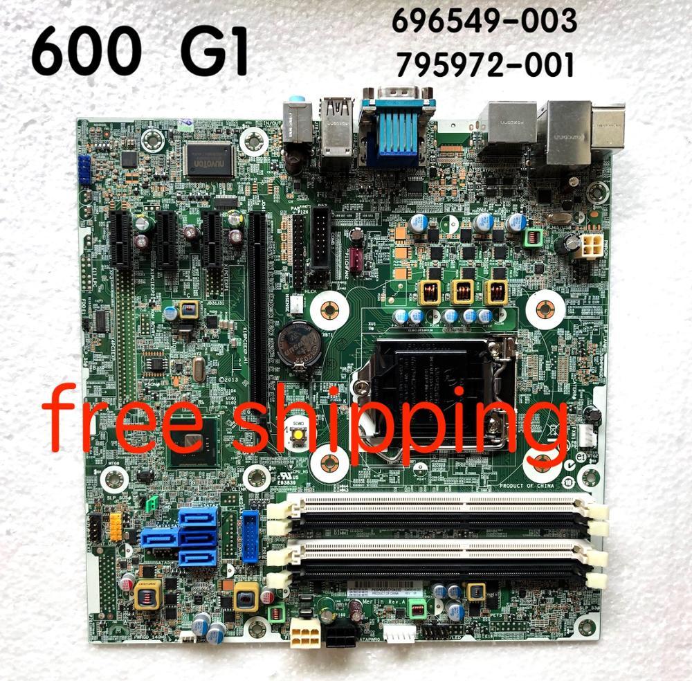795972-001 For HP ProDesk 600 G1 SFF Desktop Motherboard 696549-003 795972-501 795972-601 Motherboard100%tested Fully Work