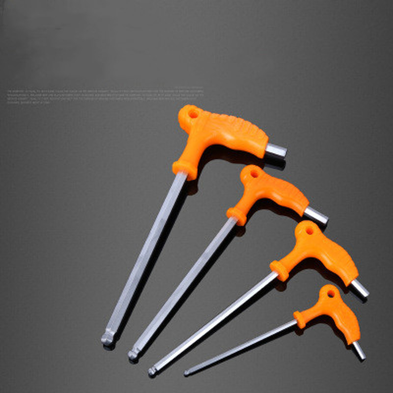 T handle allen hex key wrench spanner hand tool 3~8mm mp