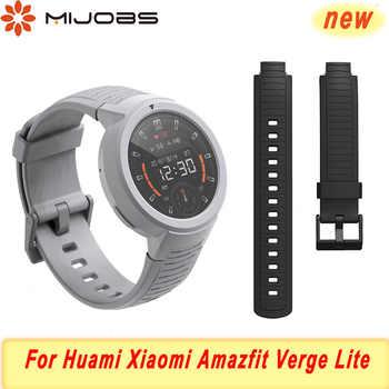 Silica Strap für Huami Amazfit Rande Lite Band Smart Armband Weiche Armband für Xiaomi Amazfit Bip Armband Strap Zubehör