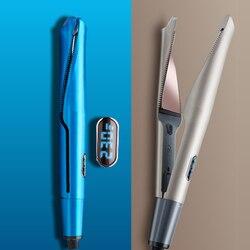 Профессиональные щипцы для выпрямления волос и щипцы для завивки волос 2 в 1 выпрямитель для волос плоские утюжки керамические инструменты ...
