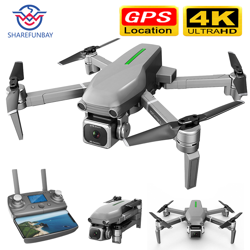 Drone GPS HD 4k Camera 1080P 5G WIFI Brushless Motor Control Distance 1000m Flight 25 Minutes ESC Drone Camera