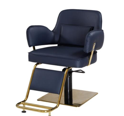 Vintage Barber Chair Barbershop Chair Hair Salon Dyeing And Ironing Chair Hair Cutting Chair Hair Salon Solid Wood Hydraulic Cha