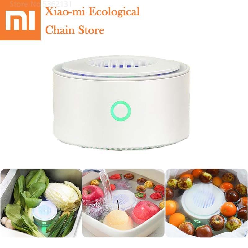 Xiaomi Fruit Vegetables Purifier For Sterilize Disinfection Remove Pesticide Residues Home Kitchen Vegetables Food Sterilizer