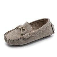 JGVIKOTO kız erkek ayakkabı moda yumuşak çocuklar mokasen çocuk Flats düğün gündelik ayakkabı düğümlü kravat tulumları Moccasins Tenis Ayakk. Anne ve Çocuk -