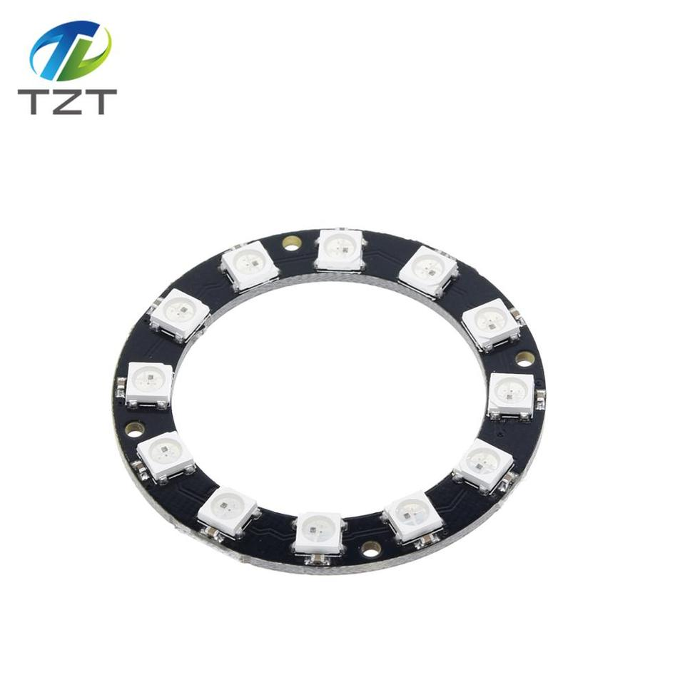 Integrated Drivers For Arduino T S* 1X WS2812 5050 RGB LED Ring 24Bit RGB LED