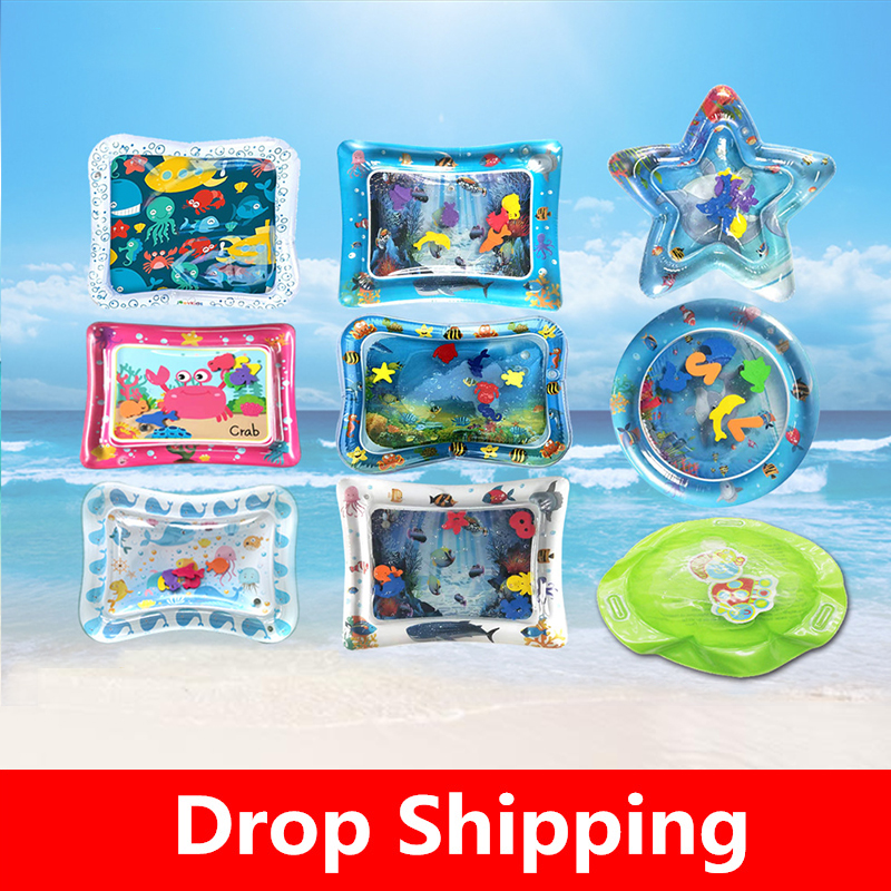 Baby Crawling Water Mat Inflatable Play Mat Toddler Pad Newborn Baby Cushion Play Water Cushion Pad Summer Hot Selling Piscina