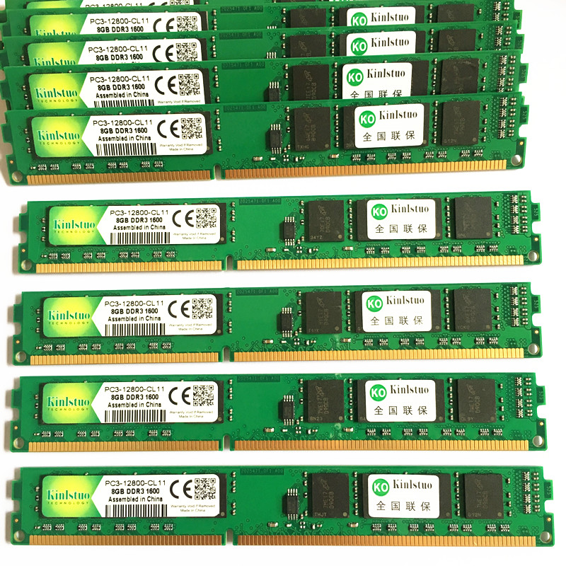 DDR3 RAM 1600MHz ddr3 8GB memory For deskpop 240pin New Good price image