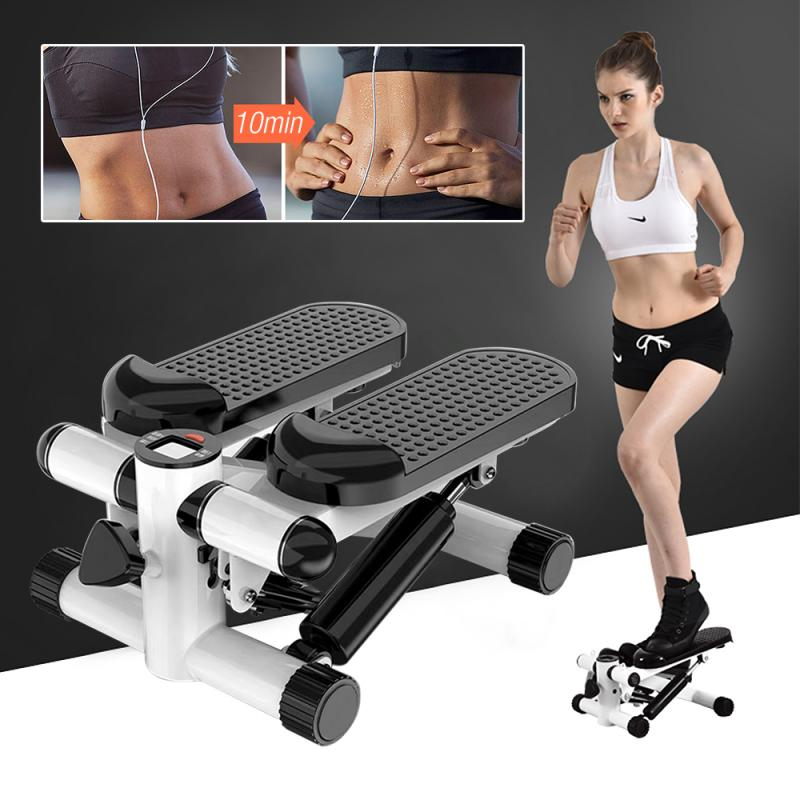 Multi-functional Stepper Home Indoor Female Weight Loss Pedal Mini Stepper Fitness Equipment Steppers HWC