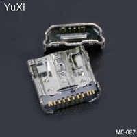 YuXi-conector de carga para tableta, Conector Micro USB para Samsung Tab 4 7,0, Wi-Fi, T230, SM-T230, T231, T230NU, 2 uds.